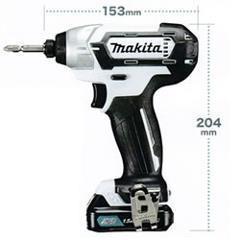 マキタ【makita】10.8V充電式インパクトドライバー(ソフトケース仕様) TD1・・・
