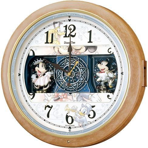 SEIKO(セイコー) 壁掛時計 電波時計『ディズニータイム』ミッキー&フレンズF・・・