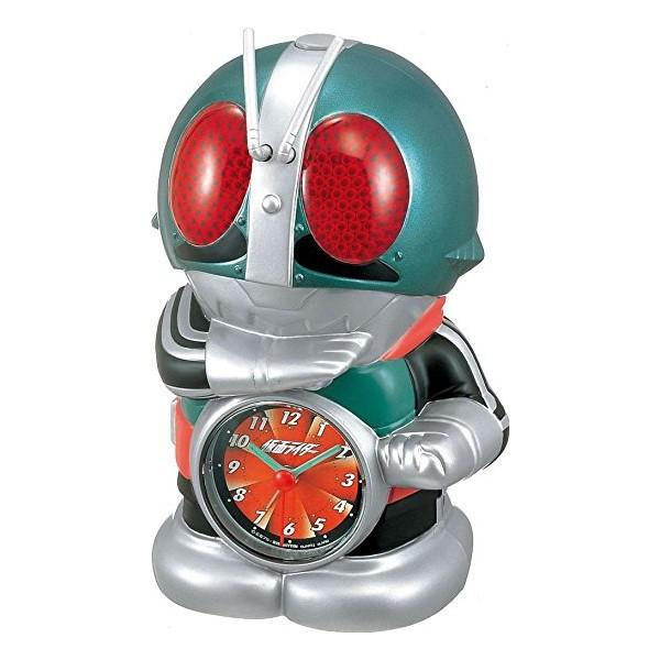 リズム時計工業 目覚し時計キャラクター時計『仮面ライダー』4SE502RH0・・・