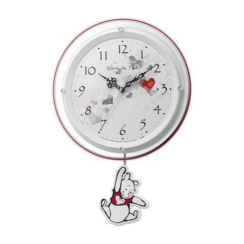 リズム時計 電波振り子時計 『くまのプーさん』 8MX407MC0・・・