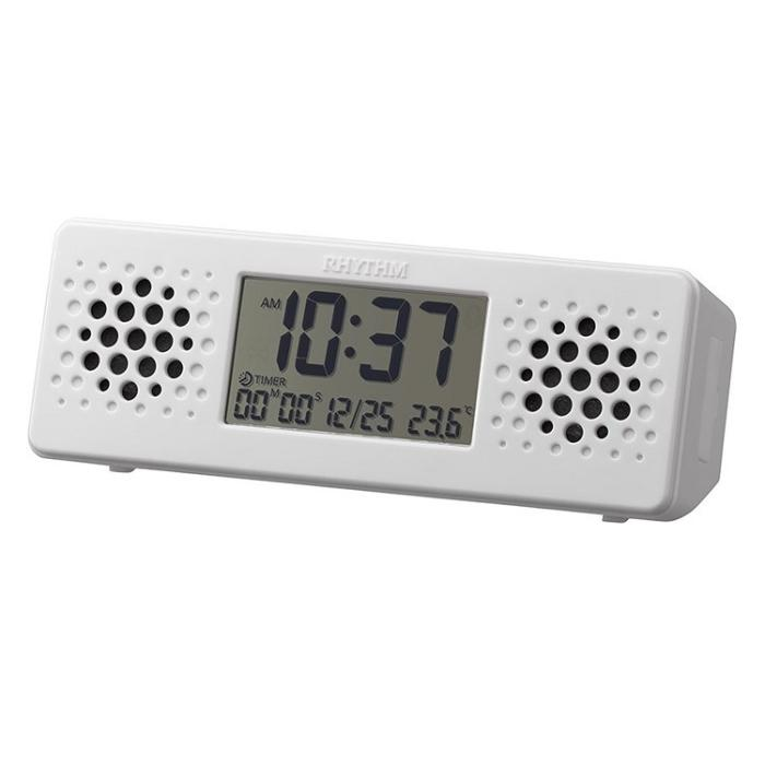 リズム時計 クオーツ 置き時計 『アクアプルーフ ミュージック』 8RDA73RH0・・・