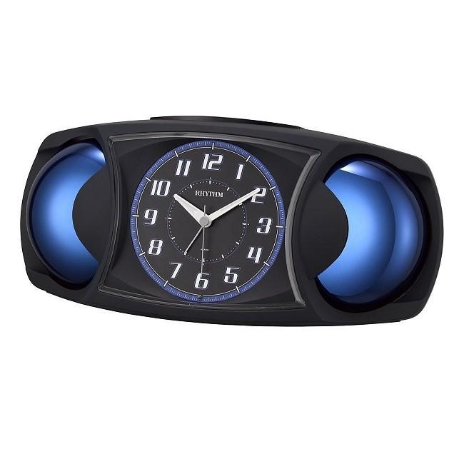 リズム時計 めざまし時計 バトルMAX X 4RA482SR02