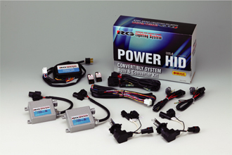 RACING GEAR RGH-CB965 [HID 蒼白 6500K HB3/HB4]
