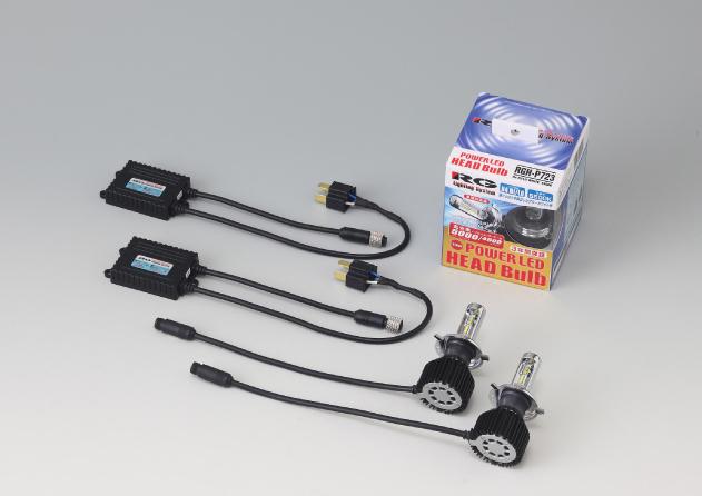 RACING GEAR RGH-P722 [LED ブルーホワイト 6500K HB3/HB4]