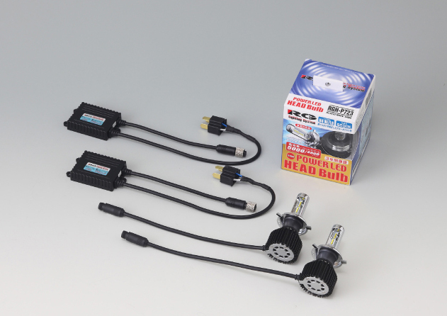 RACING GEAR RGH-P724 [LED クリアホワイト 5500K H9/H11]