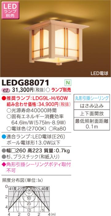 LEDG88071