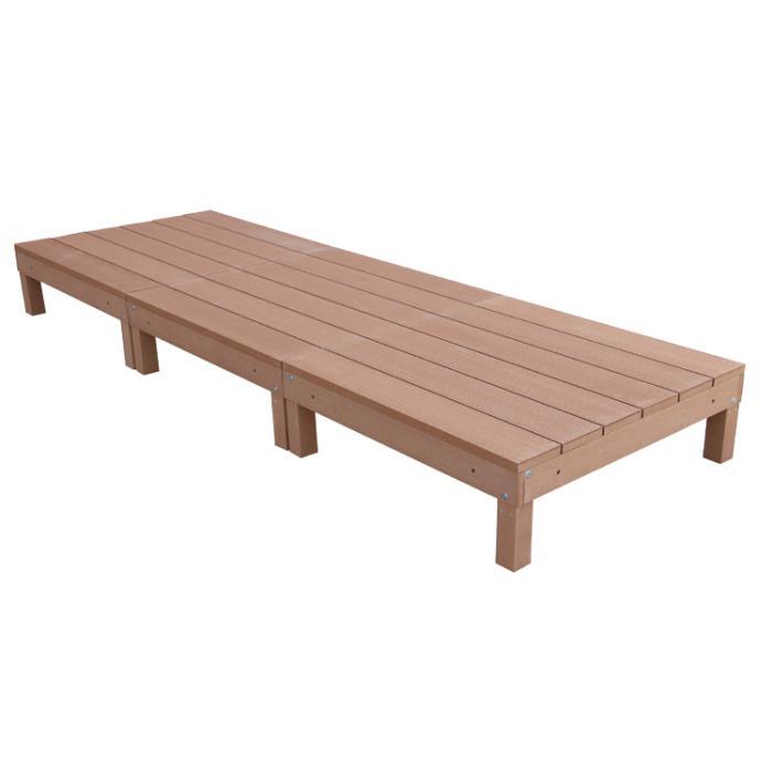 アイウッド人工木デッキ3点セット0.75坪ナチュラル ウッドデッキ10368-3・・・