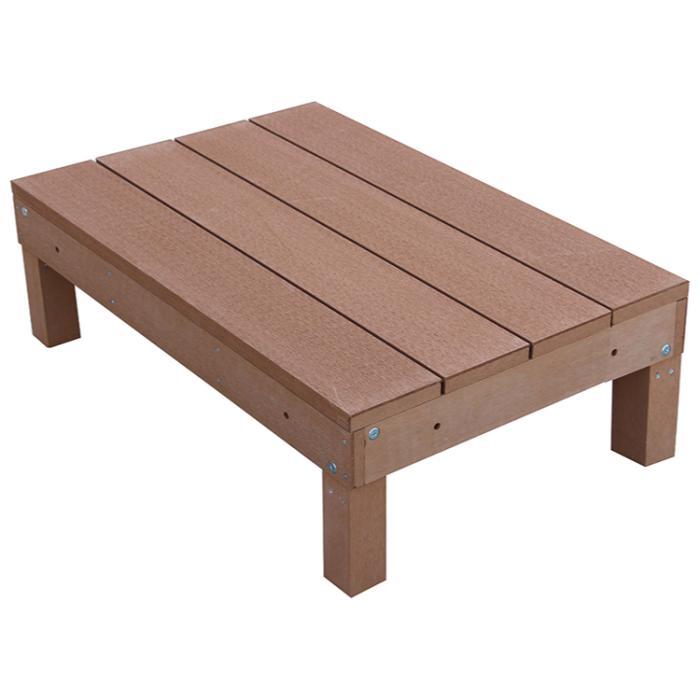 アイウッド人工木デッキ1点セット60系ナチュラル ウッドデッキ10368-1d6・・・