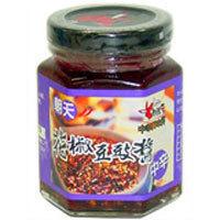 友盛貿易 老騾子 朝天 花椒豆鼓醤 中辛 85g