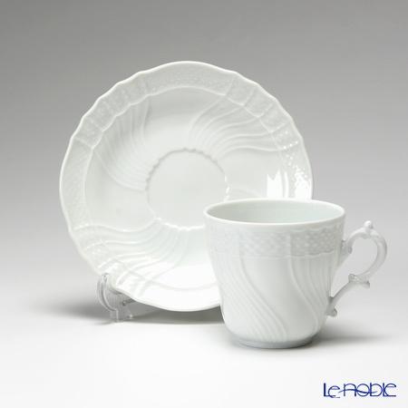 リチャードジノリ(Richard Ginori) ベッキオホワイト コーヒーカップ&ソーサー 200cc 商品画像2:ブランド洋食器専門店 ル・ノーブル