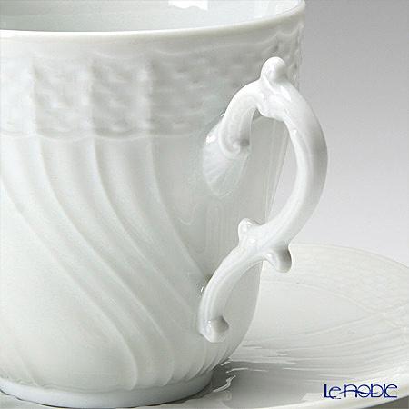リチャードジノリ(Richard Ginori) ベッキオホワイト コーヒーカップ&ソーサー 200cc 商品画像3:ブランド洋食器専門店 ル・ノーブル