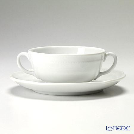 リチャードジノリ(Richard Ginori) ボンジョルノホワイト スープカップ&ソー・・・