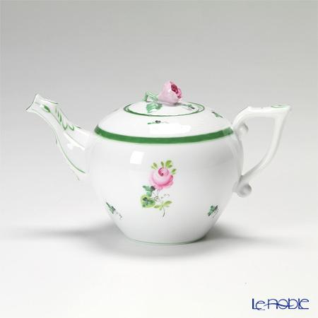 ヘレンド ウィーンのバラ 00608-0-09/605 ティーポット(ローズ) 400c・・・
