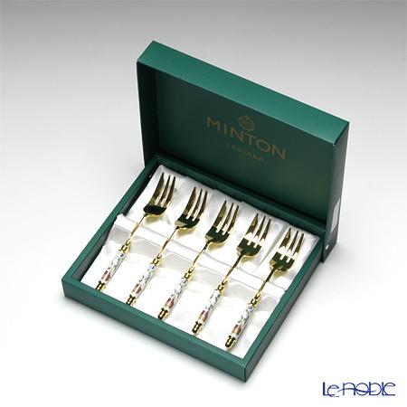 ミントン ハドンホール ケーキフォーク 5本セット HH002G-C・・・