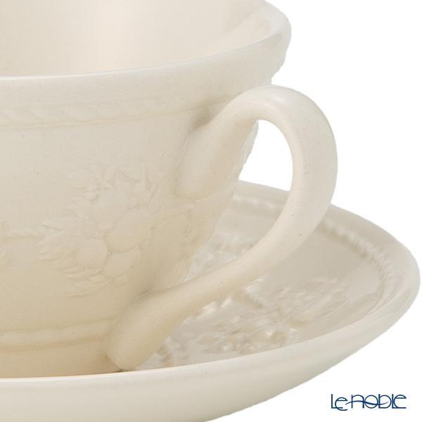 ウェッジウッド(Wedgwood) フェスティビティ ティーカップ&ソーサー 160cc(アイボリー) 商品画像4:ブランド洋食器専門店 ル・ノーブル