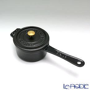 ストウブ(staub) スモールソースパン 10cm/0.25L ブラッ・・・