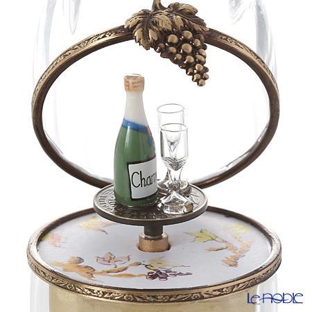 リモージュボックス/エッグボックス クリスタル シャンパン (オルゴール付:・・・