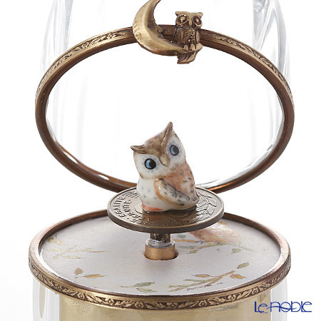 リモージュボックス/エッグボックス クリスタル フクロウ (オルゴール付:エ・・・