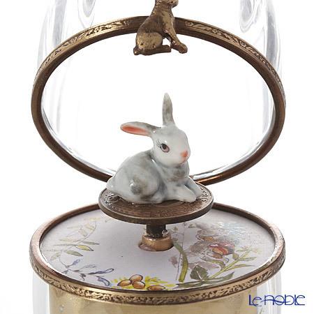 リモージュボックス/エッグボックス クリスタル ウサギ (オルゴール付:エリ・・・