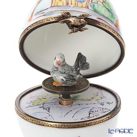 リモージュボックス/エッグボックス リモージュ ノートルダム 鳥 (オルゴー・・・