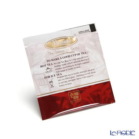プリミアスティー(高級インド紅茶) コンチネンタルセレクション ティーバッグセット 25個入 アッサム(オーガニック) 商品画像3:ブランド洋食器専門店 ル・ノーブル