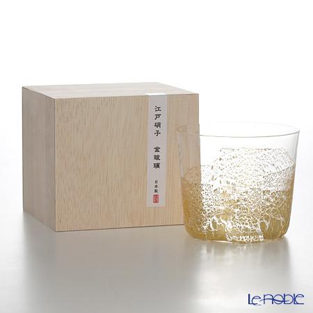 東洋佐々木ガラス 江戸硝子 金玻璃 10896 フリーグラス 小(大地) 300m・・・