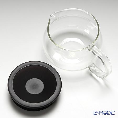 キントー 耐熱ガラス One-touch ティーポット 280ml ブラウン 商品画像2:ブランド洋食器専門店 ル・ノーブル