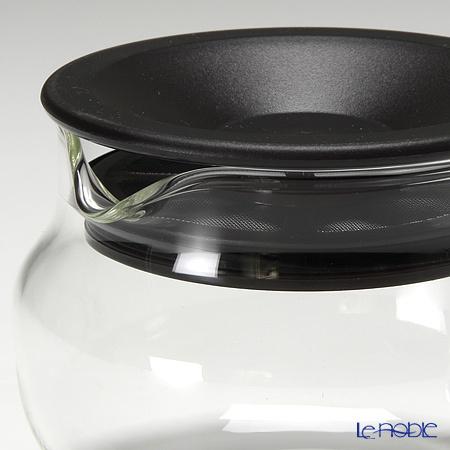 キントー 耐熱ガラス One-touch ティーポット 280ml ブラウン 商品画像3:ブランド洋食器専門店 ル・ノーブル