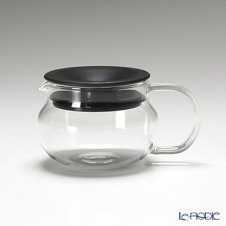 キントー 耐熱ガラス One-touch ティーポット 280ml ブラウ・・・