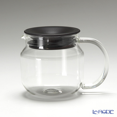キントー 耐熱ガラス One-touch ティーポット 450ml ブラウ・・・