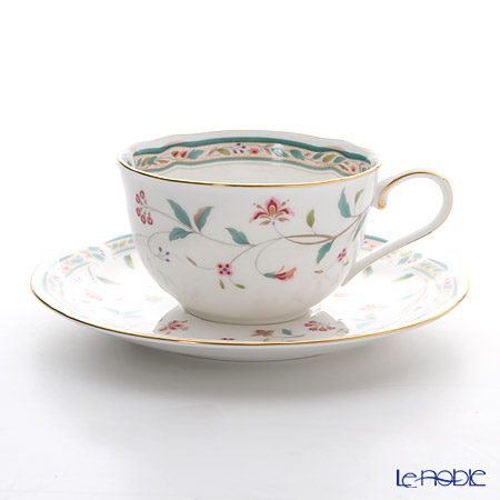 ノリタケ 花更紗 T59387A/4409 ティー・コーヒー碗皿
