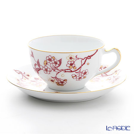 大倉陶園 祝い桜 碗皿 1C/A682-4