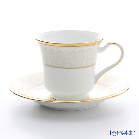 ノリタケ ホワイトパレス アメリカン碗皿 T59589/4753