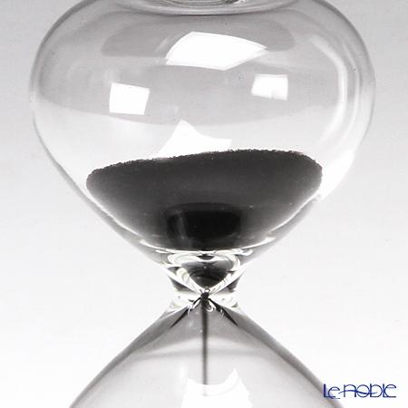 廣田硝子 スナ式トケイ ST-3BK 砂時計(3分計・黒) 商品画像3:ブランド洋食器専門店 ル・ノーブル