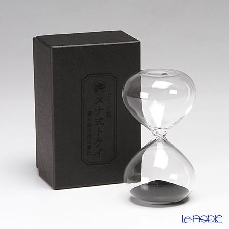 廣田硝子 スナ式トケイ ST-3BK 砂時計(3分計・黒) 商品画像4:ブランド洋食器専門店 ル・ノーブル