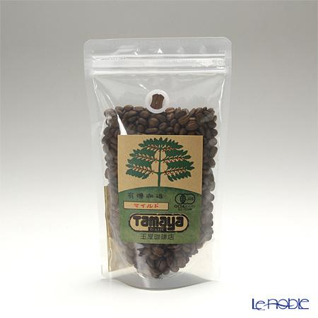 玉屋珈琲 有機栽培珈琲 マイルド(浅煎り)豆 200g