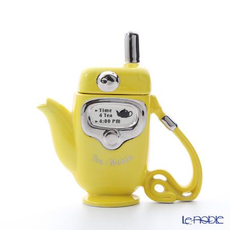 ティーポッタリー Teapottery モバイルフォン(イエロー) 18×1・・・