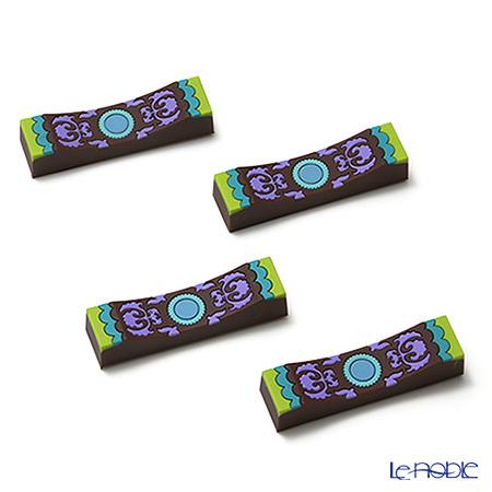 イマージュ・ドゥ・オリエント ナッシジュ ナイフレスト 緑×紫 4個セット CT・・・