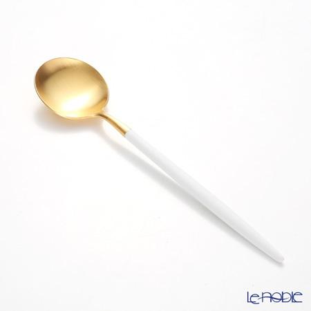 クチポール ゴア GOA ホワイト/ゴールド デザートスプーン 39724505 マット・・・