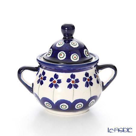 ポーリッシュポタリー(ポーランド陶器) ボレスワヴィエツ シュガーボウル 50m・・・