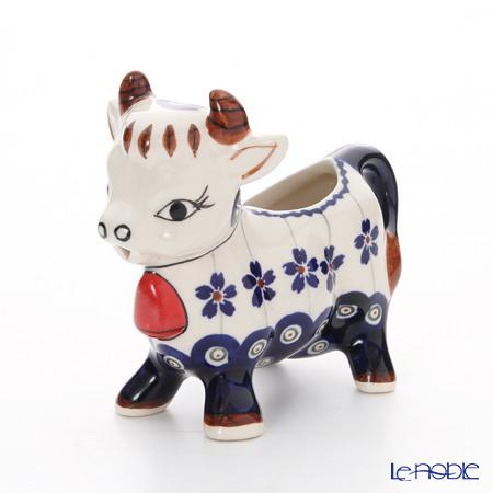 ポーリッシュポタリー(ポーランド陶器) ボレスワヴィエツ クリーマー(ウシ) 7・・・