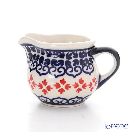 ポーリッシュポタリー(ポーランド陶器) ボレスワヴィエツ クリーマー 35ml/4・・・