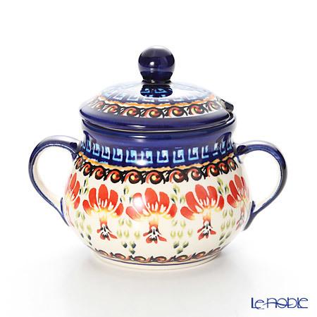 ポーリッシュポタリー(ポーランド陶器) ボレスワヴィエツ シュガーボウル 250・・・