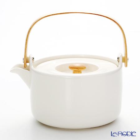 マリメッコ(marimekko) OIVA ホワイト ティーポット 18cm/700m・・・