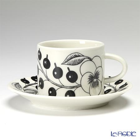 アラビア(ARABIA) パラティッシ ブラック コーヒーカップ&ソーサー 180c・・・