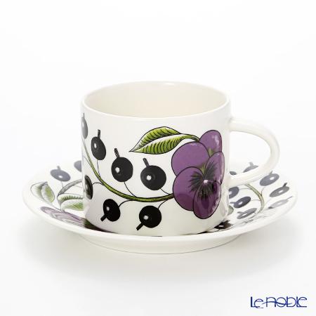 アラビア(ARABIA) パラティッシ パープル コーヒーカップ&ソーサー 180c・・・