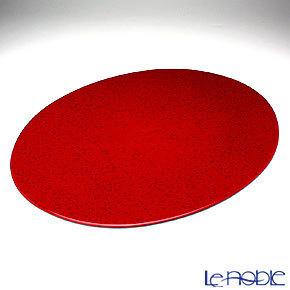 ラックヌーボー マーブルコレクション 楕円型プレースマット(L) レッ・・・