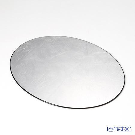 ラックヌーボー 楕円型プレースマット(S) シルバー(銀箔・・・