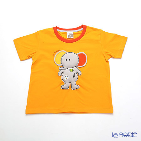 ジムトンプソン 子供服 Tシャツ 3Y(3-4歳) ゾウトイ/オレン・・・