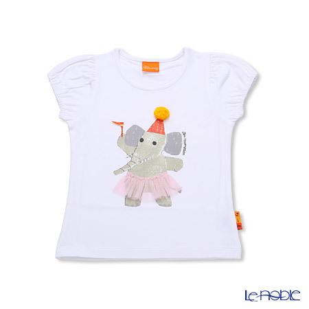 ジムトンプソン 子供服 Tシャツ 3Y(3-4歳) ドレスアップエリー/ホワイ・・・
